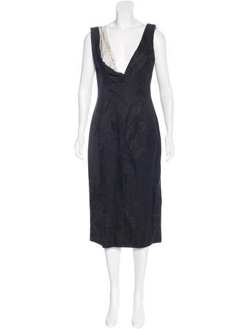 Nina Ricci Colorblock Sheath Dress None