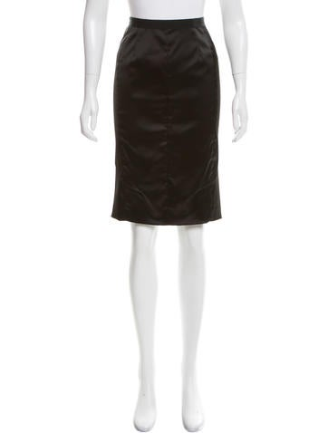 Nina Ricci Knee-Length Pencil Skirt w/ Tags None