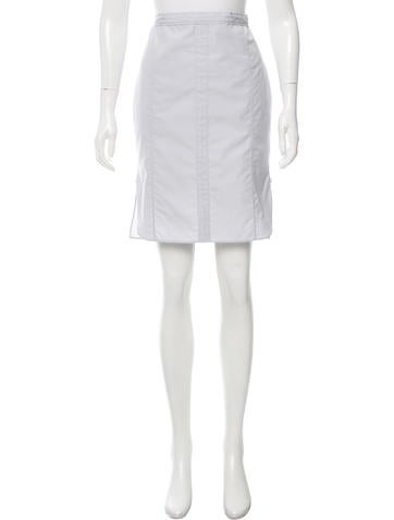 Nina Ricci Knee-Length Pencil Skirt None