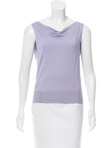 Nina Ricci Cashmere & Silk Top w/ Tags None