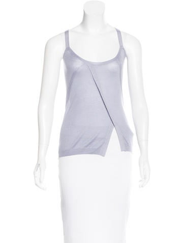 Nina Ricci Cashmere & Silk-Blend Knit Top None