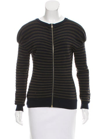 Nina Ricci Striped Wool Sweater None