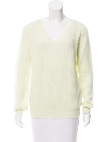 Nina Ricci Mohair-Blend Long Sleeve Sweater w/ Tags None