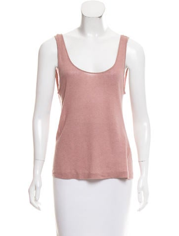 Nina Ricci Sleeveless Knit Top None
