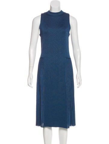 Nina Ricci Sleeveless Midi Dress w/ Tags None