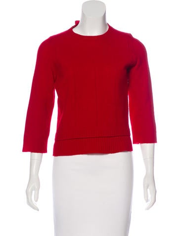 Nina Ricci Virgin Wool Knit Sweater None
