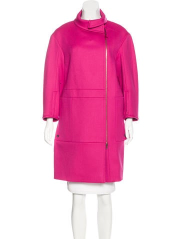 Nina Ricci Wool Long Coat None