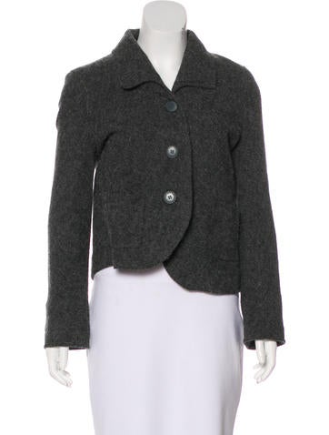 Nina Ricci Wool Button-Up Jacket None