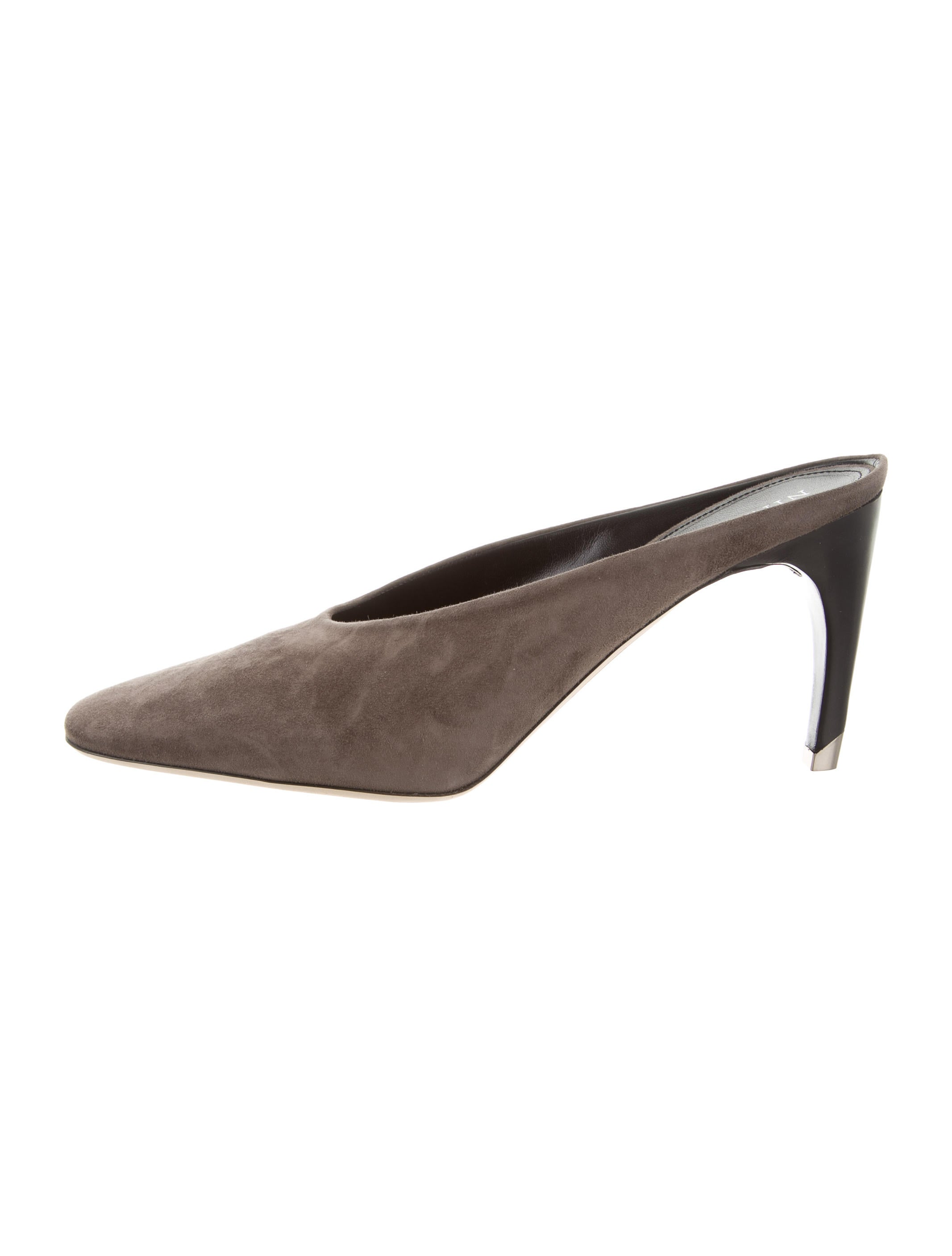 Nina Ricci Suede Pointed-Toe Pumps w/ Tags cheap order Y40NKo2O