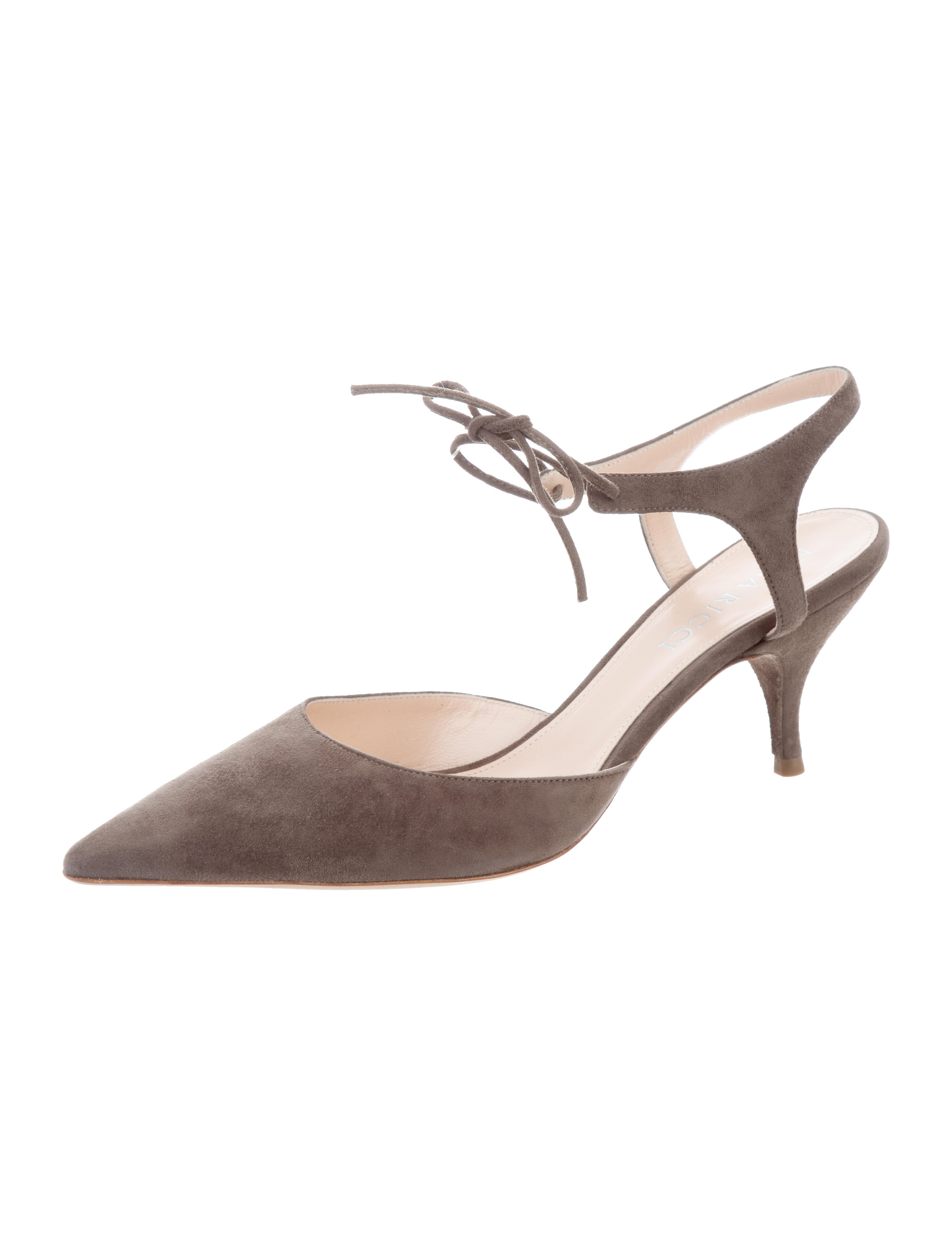 discounts cheap price Nina Ricci Suede Pointed-Toe Pumps w/ Tags sale find great 1lKnXT