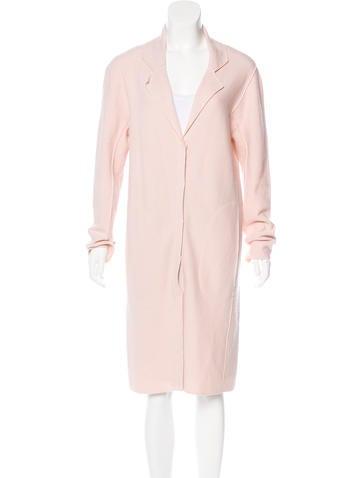 Nina Ricci Virgin Wool Long Coat None