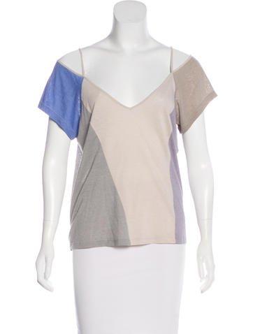 Nina Ricci Lightweight Short Sleeve Top None