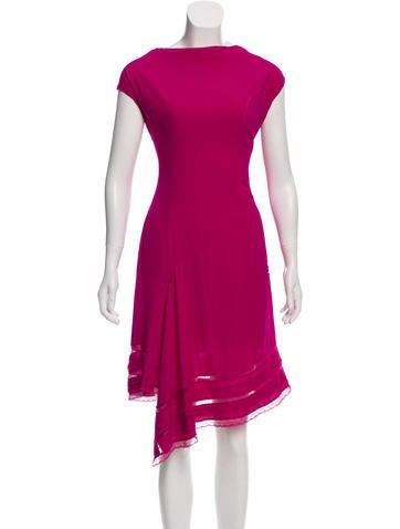 Nina Ricci Sleeveless Midi Dress None
