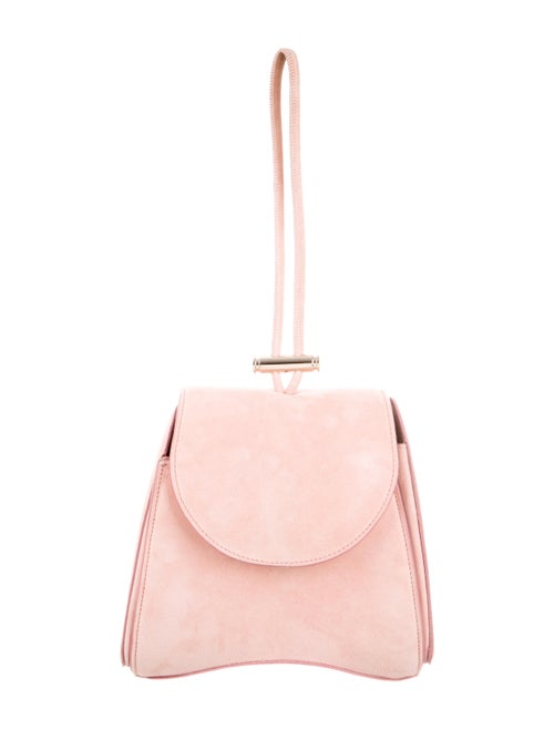 Nina Ricci Suede Shoulder Bag Pink