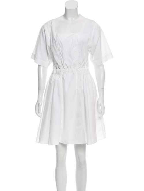Nina Ricci Poplin Mini Dress w/ Tags White