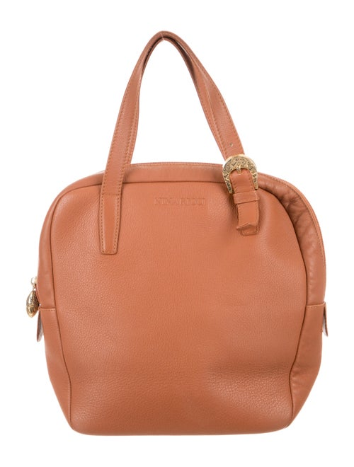 Nina Ricci Leather Handle Bag Brown - image 1