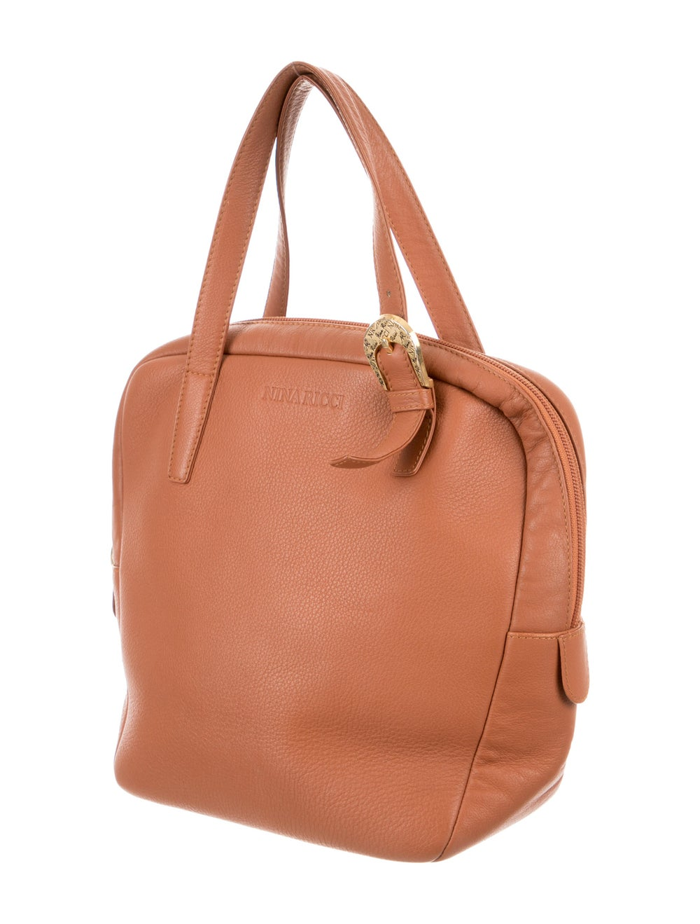 Nina Ricci Leather Handle Bag Brown - image 3