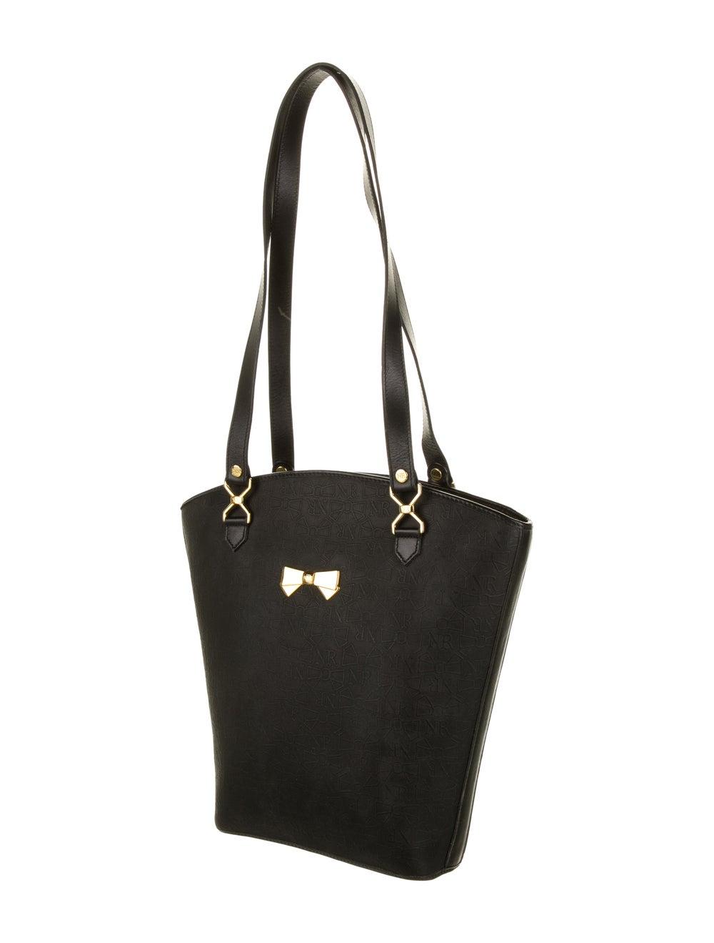 Nina Ricci Leather Handle Bag Black - image 3