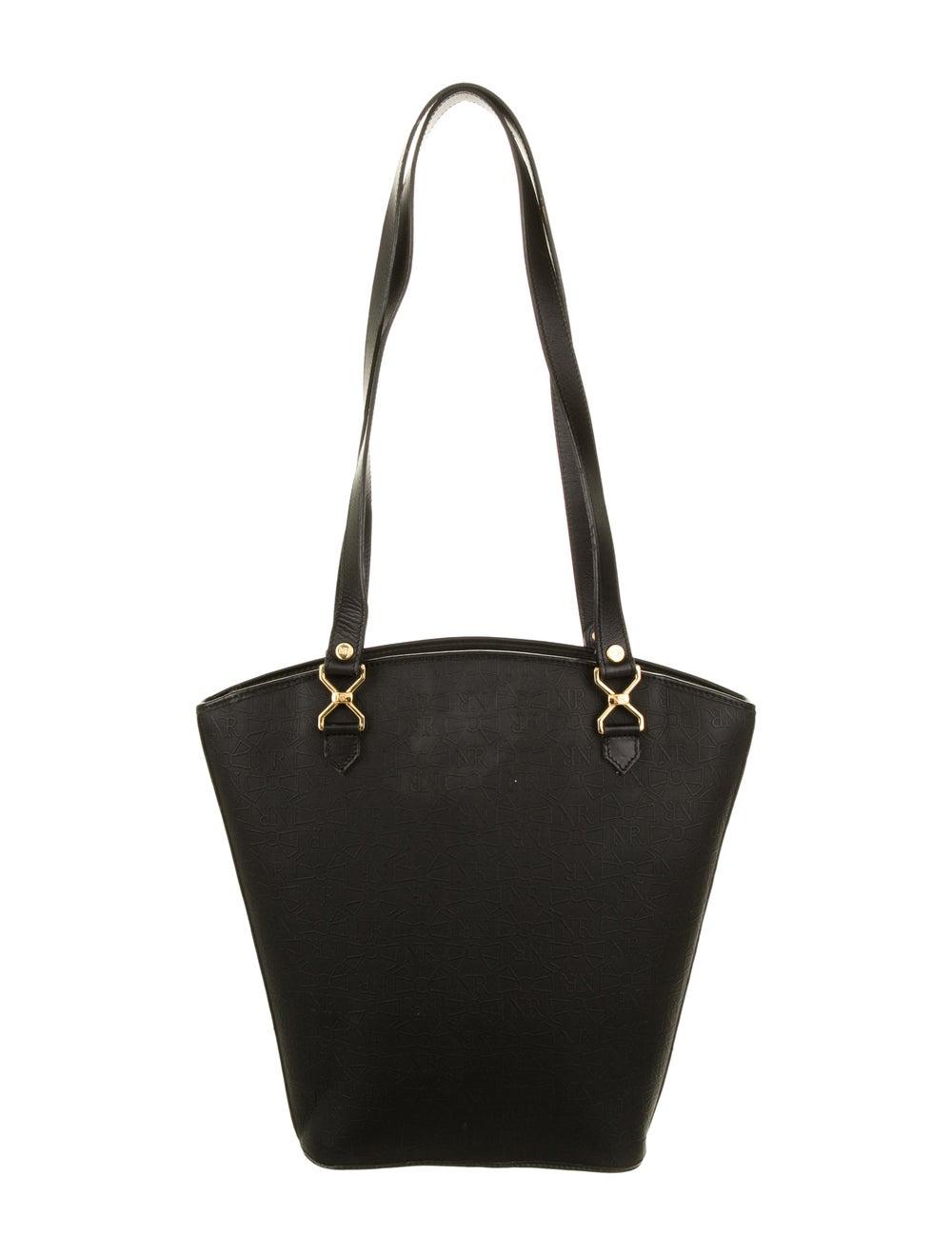 Nina Ricci Leather Handle Bag Black - image 4