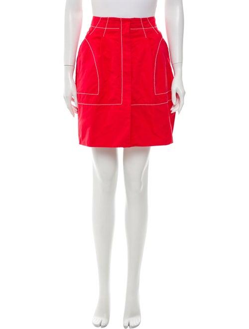 Nina Ricci Mini Skirt Red