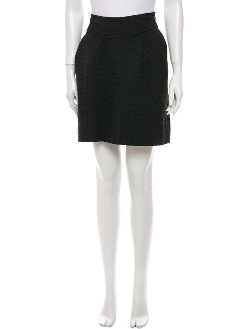 Nina Ricci Mini Skirt Black
