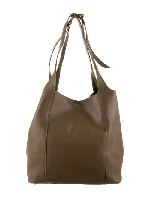 Nina Ricci Leather Tote Bag Brown