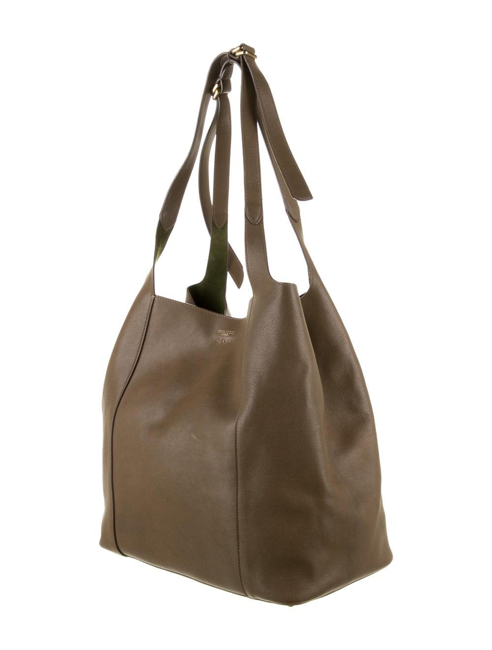 Nina Ricci Leather Tote Bag Brown - image 3