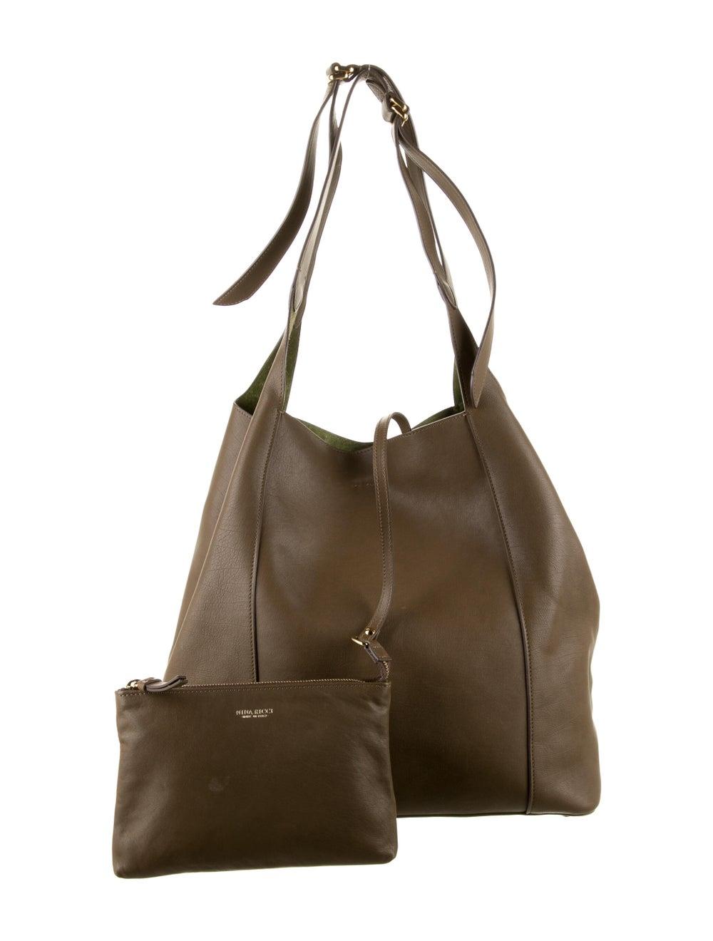 Nina Ricci Leather Tote Bag Brown - image 4