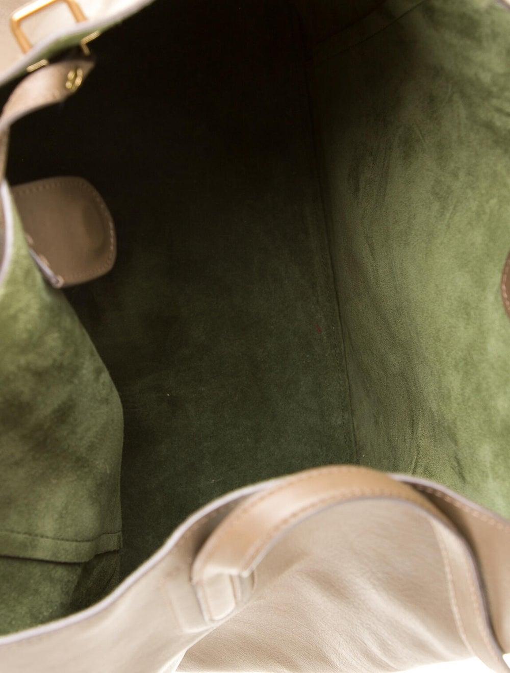 Nina Ricci Leather Tote Bag Brown - image 5