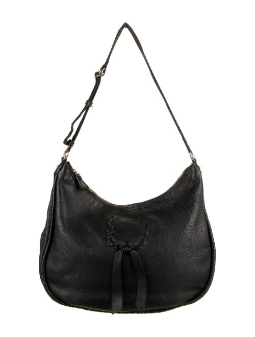 Nina Ricci Leather Shoulder Bag Black