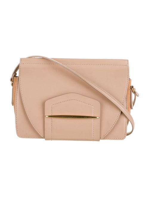 Nina Ricci Leather Crossbody Bag Pink