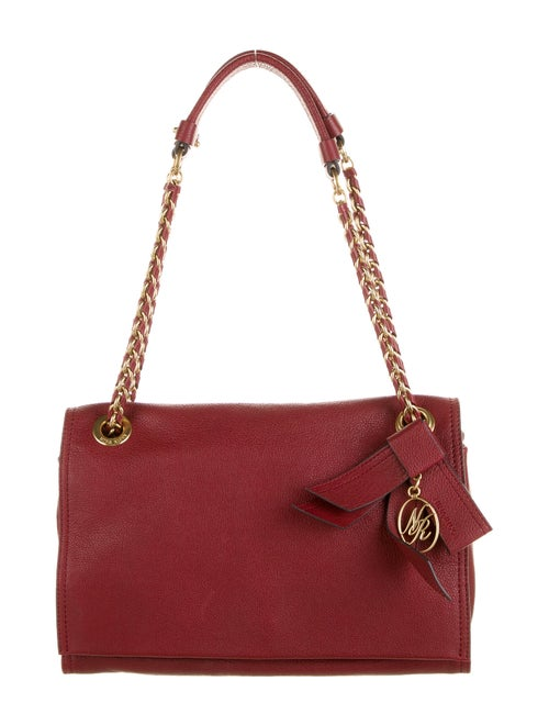 Nina Ricci Leather Shoulder Bag Red