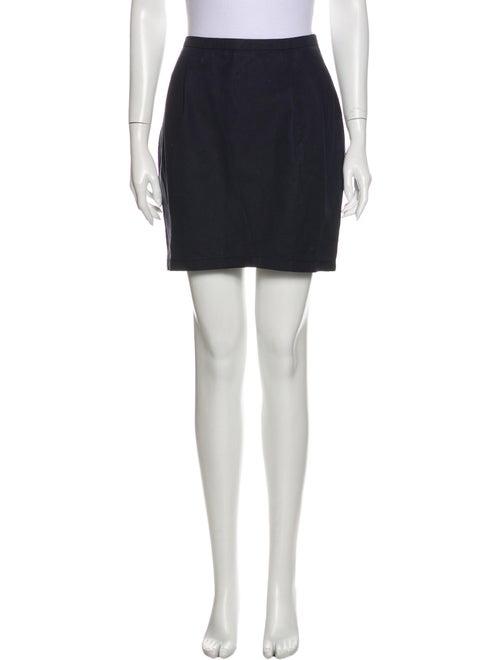 Nina Ricci Mini Skirt Blue