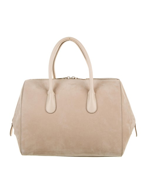 Nina Ricci Leather Handle Bag Gold