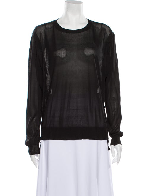 Nina Ricci Scoop Neck Sweater Black