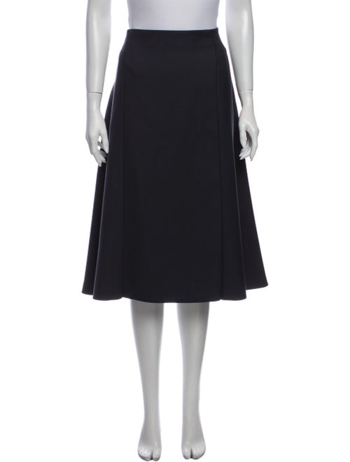 Nina Ricci Knee-Length Skirt Grey