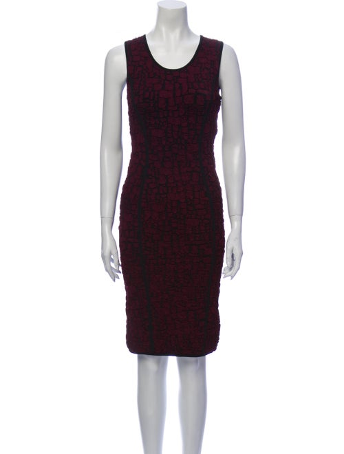 Nina Ricci Printed Knee-Length Dress