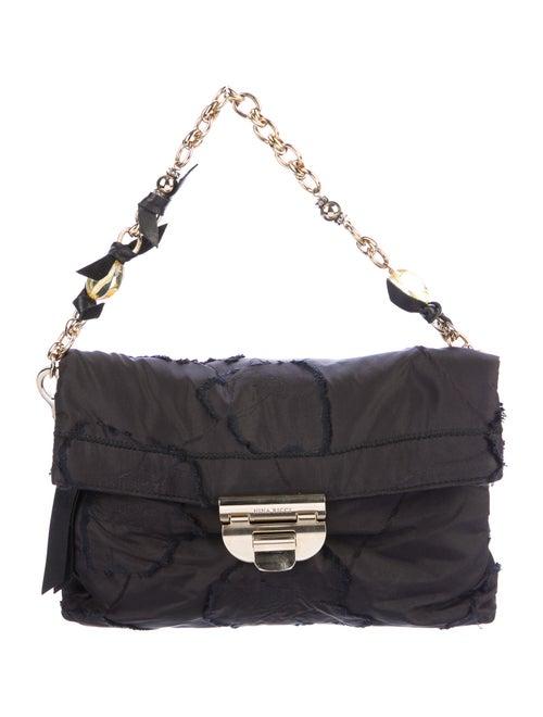 Nina Ricci Nylon Evening Bag Black