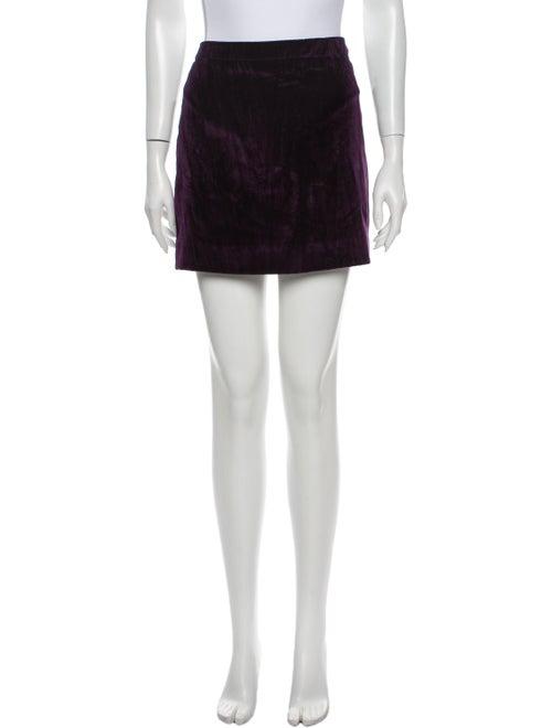 Nina Ricci Mini Skirt Purple
