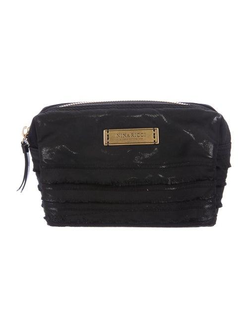 Nina Ricci Nylon Cosmetic Bag Black
