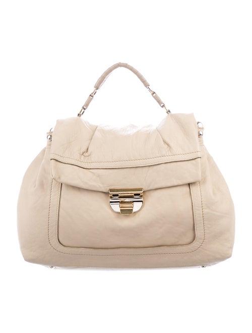 Nina Ricci Soft Leather Handle Bag Gold
