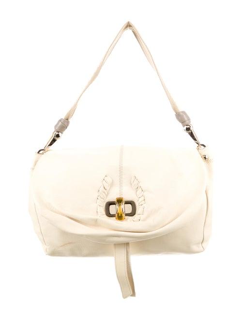 Nina Ricci Leather Shoulder Bag Gold