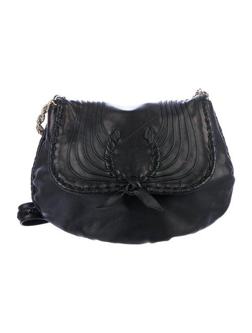 Nina Ricci Ondine Agneau Bag Black