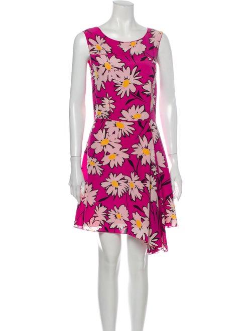 Nina Ricci Silk Mini Dress Pink