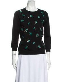 Nina Ricci Wool Crew Neck Sweater