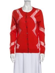 Nina Ricci Wool Printed Sweater