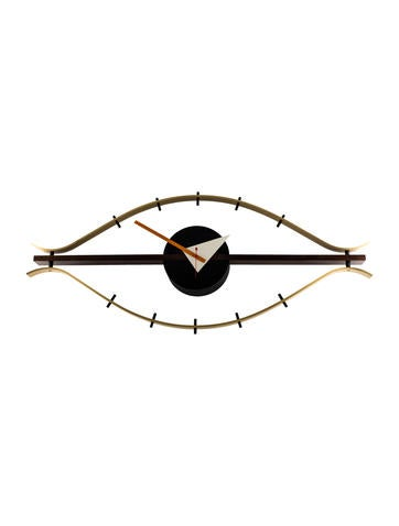 george nelson eye clock decor and accessories nls20010 the realreal. Black Bedroom Furniture Sets. Home Design Ideas