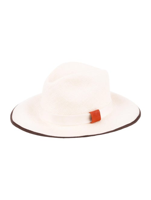 Noel Stewart Straw Wide-Brim Hat