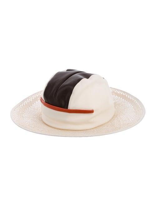 Noel Stewart Straw Wide-Brim Hat multicolor - image 1