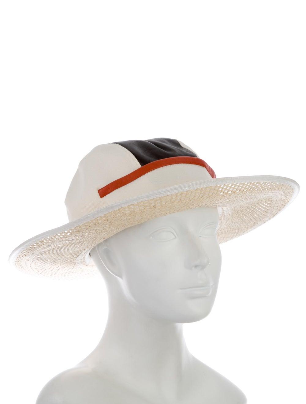 Noel Stewart Straw Wide-Brim Hat multicolor - image 3